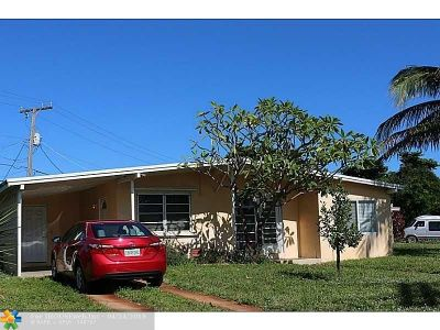 Pompano Beach Single Family Home For Sale: 1501 NE 42nd Ct