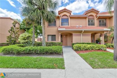 Plantation Condo/Townhouse For Sale: 10630 NW 14th St #110