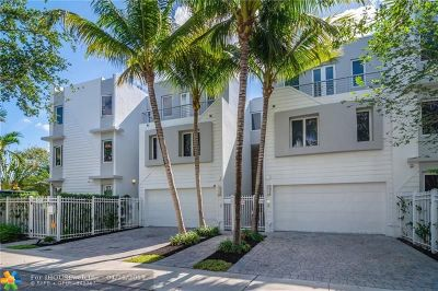 Fort Lauderdale Condo/Townhouse For Sale: 302 NE 8th Ave #302
