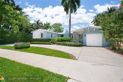 Fort Lauderdale Single Family Home For Sale: 2606 Acacia Ct