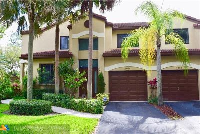 Plantation Condo/Townhouse For Sale: 1024 NW 105th Ave #c119