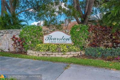 Palm Beach Gardens Condo/Townhouse For Sale: 44 Balfour Rd #44