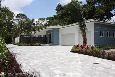 Fort Lauderdale Single Family Home For Sale: 2317 SW 33rd Ter