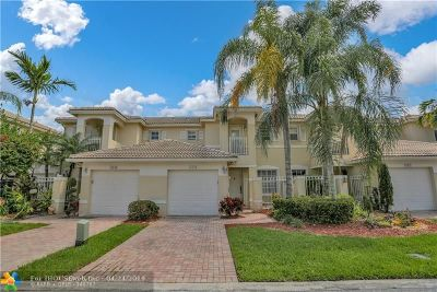 Pembroke Pines Condo/Townhouse For Sale: 17020 NW 22nd St #1