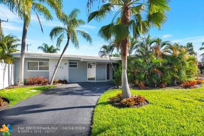 Fort Lauderdale FL Single Family Home For Sale: $479,000