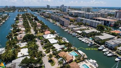 Fort Lauderdale FL Single Family Home For Sale: $1,050,000