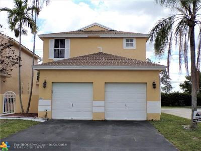 Pembroke Pines Single Family Home For Sale: 2101 NW 184th Ter