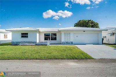 Tamarac FL Single Family Home For Sale: $255,000