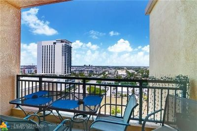 Fort Lauderdale Condo/Townhouse For Sale: 110 N Federal Hwy #1502