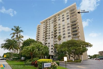 Pompano Beach Condo/Townhouse For Sale: 1900 S Ocean Blvd #14R
