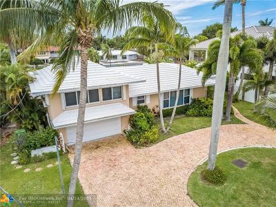 Fort Lauderdale Single Family Home For Sale: 2816 NE 26th Pl