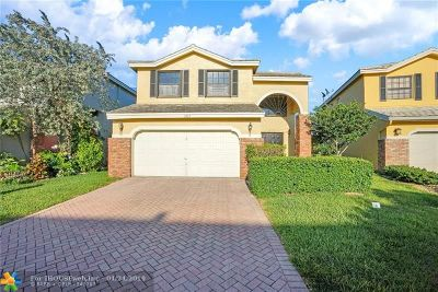 Coral Springs Single Family Home For Sale: 3425 NW 111th Ter