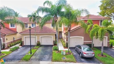 Weston Condo/Townhouse For Sale: 3808 San Simeon Cir #3808