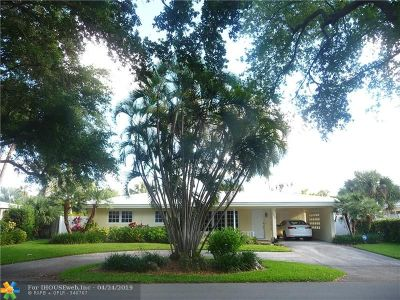 Lighthouse Point Single Family Home For Sale: 2000 NE 27th Ct