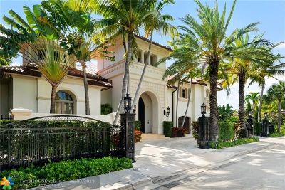 Fort Lauderdale Rental For Rent: 813 Riviera Isle