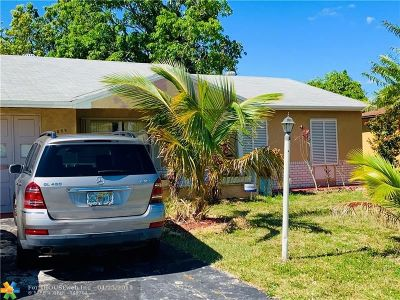 North Lauderdale FL Single Family Home For Sale: $249,900