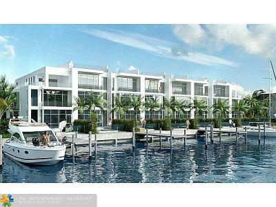 Fort Lauderdale Condo/Townhouse For Sale: 205 Hendricks Isle