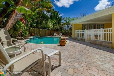 Fort Lauderdale Single Family Home For Sale: 700 NE 15th Ct