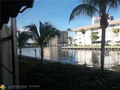 Hallandale Condo/Townhouse For Sale: 1891 S Ocean Dr #107