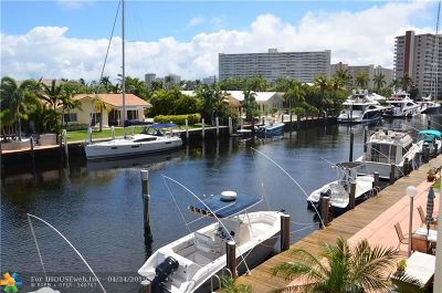 Fort Lauderdale Condo/Townhouse For Sale: 2881 NE 33rd Ct #2A