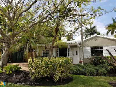 Fort Lauderdale FL Single Family Home For Sale: $575,000