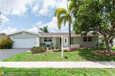 Coconut Creek Single Family Home For Sale: 4451 NW 7th St
