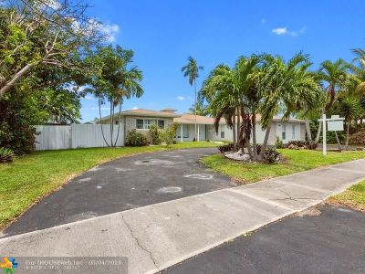 Hollywood Single Family Home For Sale: 416 N Rainbow Dr