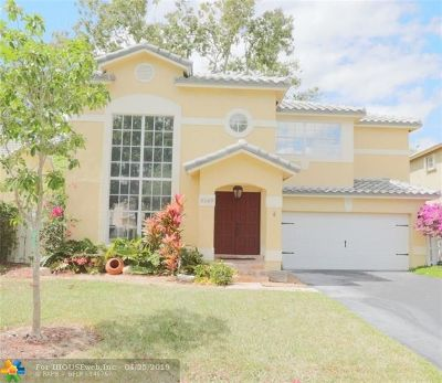 Coconut Creek Single Family Home For Sale: 5569 NW 44th Way