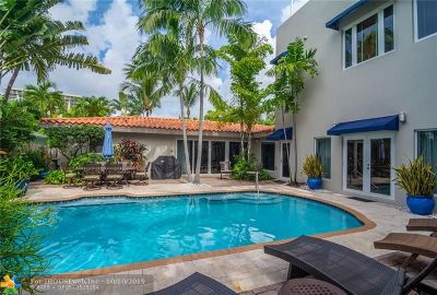 Lauderdale Beach Single Family Home For Sale: 3052 Center Av