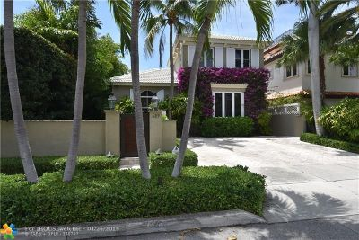 Fort Lauderdale Single Family Home For Sale: 627 Poinciana Dr