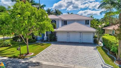 Coral Springs Single Family Home For Sale: 4195 NW 67th Way