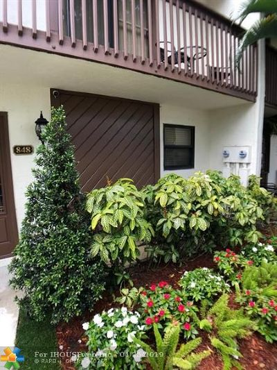 Broward County , Palm Beach County Condo/Townhouse For Sale: 848 NW 47th St #848