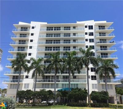 Pompano Beach Condo/Townhouse For Sale: 704 N Ocean Blvd #603