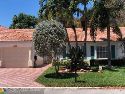 Delray Beach Condo/Townhouse For Sale: 6073 Petunia Road