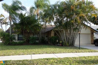 Boca Raton Single Family Home For Sale: 9190 Tivoli Pl