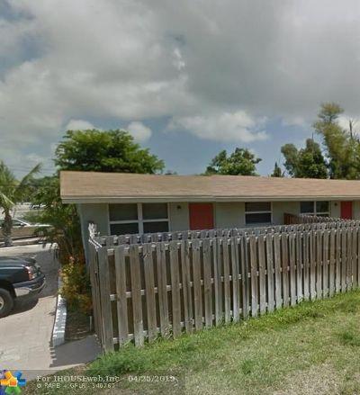 Broward County , Palm Beach County Condo/Townhouse For Sale: 1200 NE 5 #1