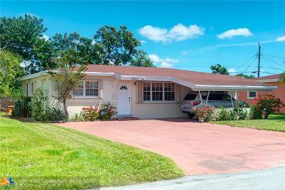 Miramar Single Family Home For Sale: 7649 Juniper St