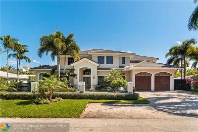 Fort Lauderdale Single Family Home For Sale: 2748 NE 20th St