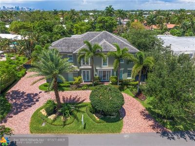 Fort Lauderdale Single Family Home For Sale: 2525 NE 26th Ave