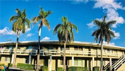 Fort Lauderdale FL Condo/Townhouse For Sale: $185,000