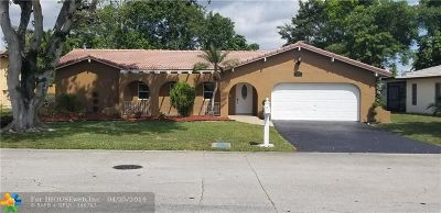 Coral Springs Single Family Home For Sale: 11171 NW 39th Ct