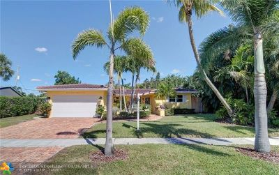 Fort Lauderdale FL Single Family Home For Sale: $485,000