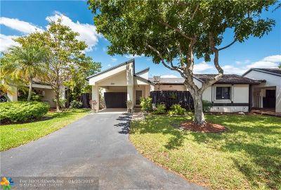 Broward County , Palm Beach County Condo/Townhouse For Sale: 282 Fairway Cir #282