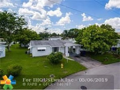 Lauderdale Lakes Single Family Home For Sale: 5014 NW 43rd St