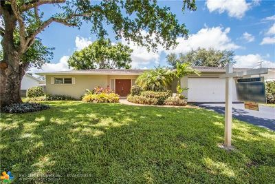 Plantation Single Family Home For Sale: 5340 SW 7th St