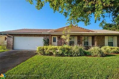 Coral Springs Single Family Home For Sale: 9044 NW 23rd Pl