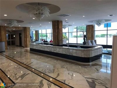 Hollywood Beach Condo/Townhouse For Sale: 2751 S Ocean Dr #S-301