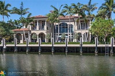 Fort Lauderdale Single Family Home For Sale: 84 Royal Palm Dr
