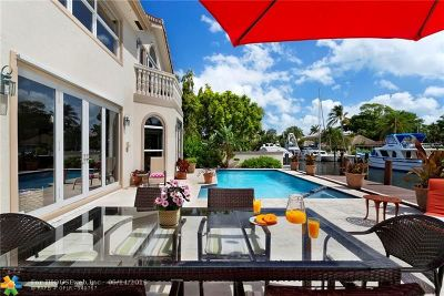 Fort Lauderdale Single Family Home For Sale: 800 Solar Isle Dr