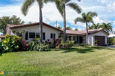 Imperial Point Single Family Home Backup Contract-Call LA: 2156 NE 61st Ct